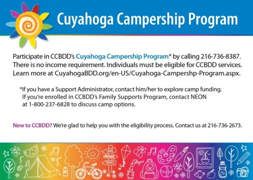 Ask the Expert - Looking for Summer Camp Funding? CCBDD Can Help